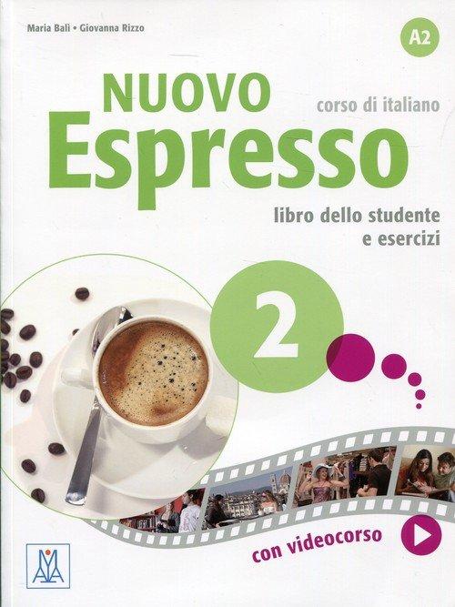 Nuovo Espresso 2. Podręcznik z - okładka podręcznika