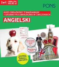 Obrazkowy Angielski kurs i gramatyka w ćwiczeniach PAK2 - okładka podręcznika