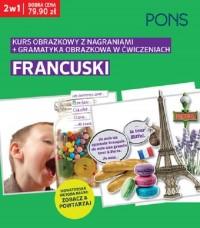 Obrazkowy francuski kurs i gramatyka w ćwiczeniach  PAK2 - okładka podręcznika
