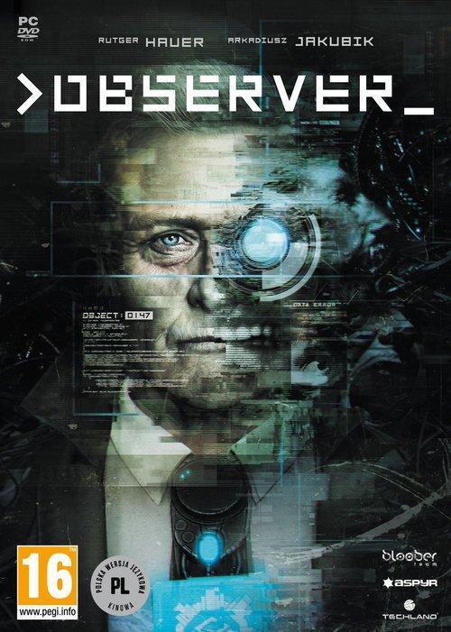 Observer PC - pudełko programu
