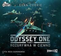 Odyssey One. Tom 1. Rozgrywka w ciemno - pudełko audiobooku