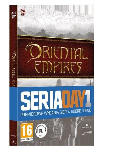 Oriental Empires PC - pudełko programu