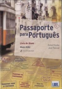 Passaporte para Portugues 1. Podręcznik + ćwiczenia - okładka podręcznika