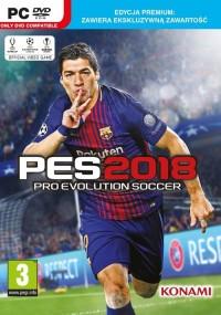 PES 2018 Premium PC - pudełko programu