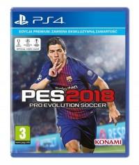 PES 2018 Premium PS4 - pudełko programu