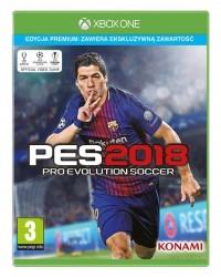 PES 2018 Premium Xbox One - pudełko programu