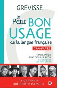 Petit Bon Usage de la langue francaise. Grammaire - okładka podręcznika