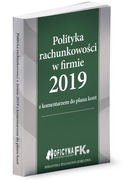 Polityka rachunkowości w firmie - okładka książki
