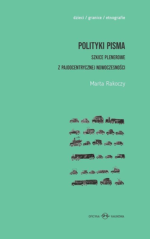 Polityki pisma. Szkice plenerowe - okładka książki