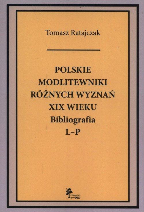Polskie modlitewniki różnych wyznań - okładka książki
