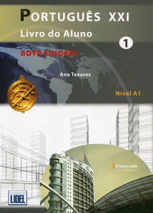 Portugues XXI 1 Livro do Aluno. - okładka podręcznika