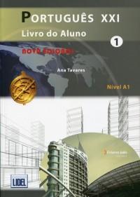 Portugues XXI 1. Podręcznik + Ćwiczenia + Online - okładka podręcznika
