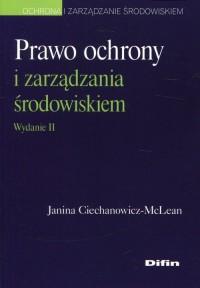 Prawo ochrony i zarządzania środowiskiem - okładka książki