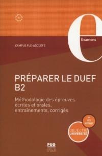 Preparer le DUEF B2 - okładka podręcznika