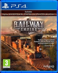 PS4 Railway Empire - pudełko programu