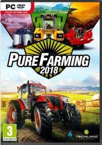 Pure Farming 2018 PC - pudełko programu