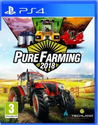 Pure Farming 2018 PS4 - pudełko programu