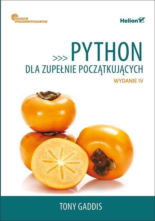 Python dla zupełnie początkujących. - okładka książki
