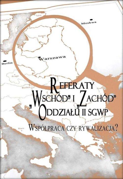 Referaty Wschód i Zachód Oddziału - okładka książki