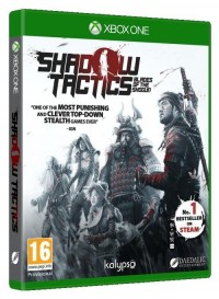 Shadow tactics Xbox One - pudełko programu