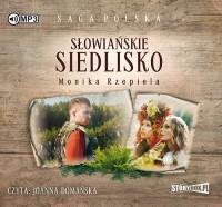 Słowiańskie siedlisko - pudełko audiobooku