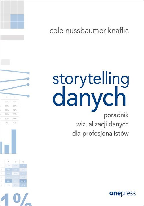 Storytelling danych. Poradnik wizualizacji - okładka książki