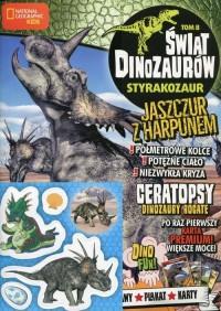Świat Dinozaurów 8. Styrakozaur - okładka książki