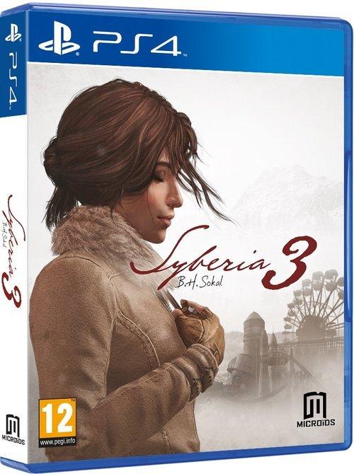 Syberia 3 - pudełko programu