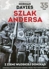 Szlak Andersa 35 Z ziemi włoskiej donikąd - okładka książki