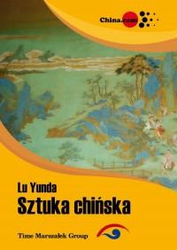 Sztuka chińska - okładka książki