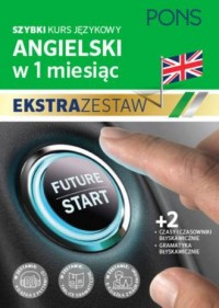Szybki kurs angielskiego czasy błyskawicznie - okładka podręcznika