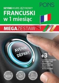 Szybki kurs fran. Pak3 podr/czas/gram bł. - okładka podręcznika