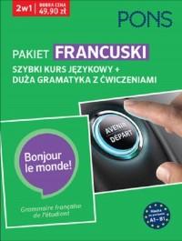 Szybki kurs i duża gramatyka Francuska A1-B1 PAK2 - okładka podręcznika