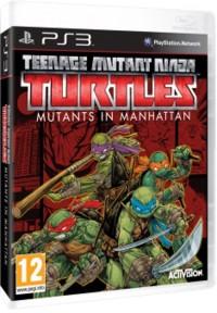 Teenage Mutant Ninja Turtless Mutants in Manhattan PS3 - pudełko programu