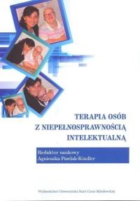 Terapia osób z niepełnosprawnością - okładka książki