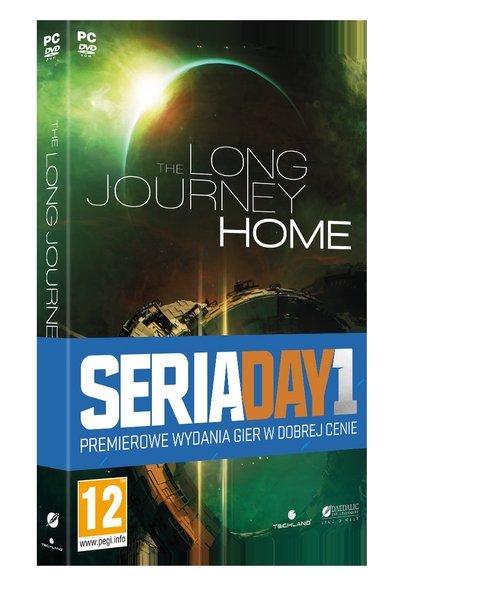 The Long Journey Home PC - pudełko programu