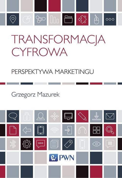 Transformacja cyfrowa - perspektywa - okładka książki