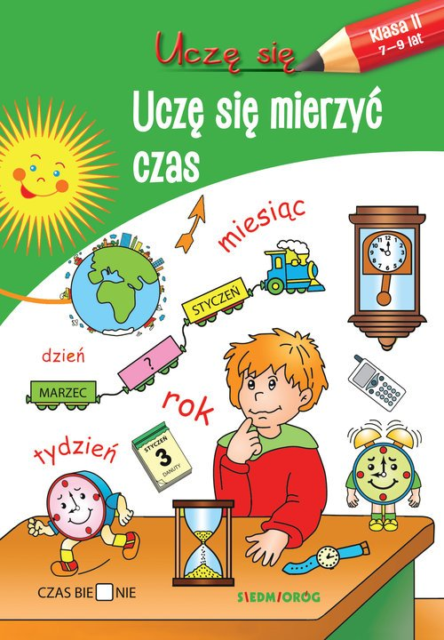 Uczę się. Uczę się mierzyć czas - okładka książki