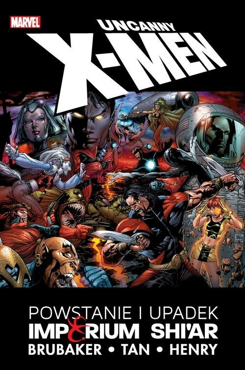 Uncanny X-Men. Powstanie i upadek - okładka książki