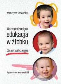 Wczesnodziecięca edukacja w żłobku.  Obraz i postrzeganie - okładka książki