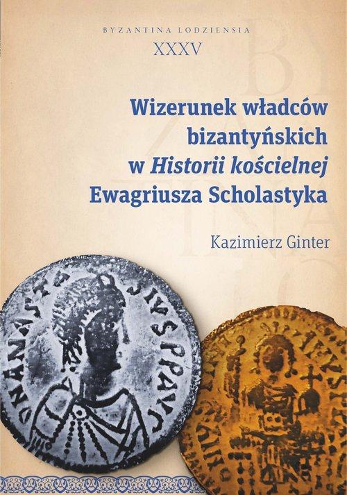 Wizerunek władców bizantyńskich - okładka książki