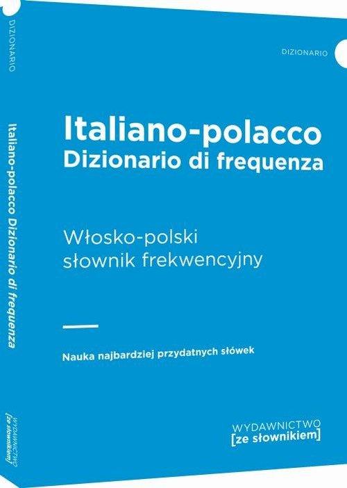 Włosko-polski słownik frekwencyjny - okładka książki