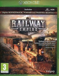 XBox One Railway Empire - pudełko programu