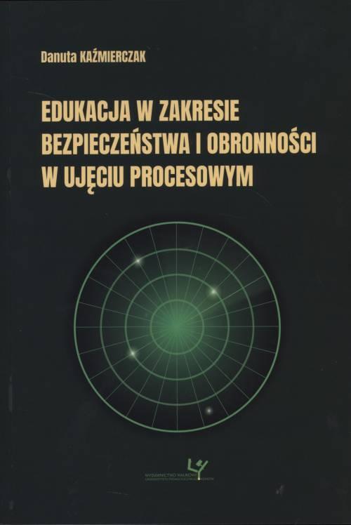 Edukacja w zakresie bezpieczeństwa - okładka książki