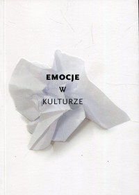 Emocje w kulturze - okładka książki