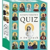 Komputerowy Quiz o Świętych cz. 2 - pudełko programu