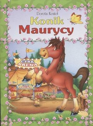 Konik Maurycy - okładka książki