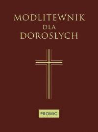 Modlitewnik dla dorosłych (średni brąz) - okładka książki