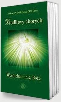 Modlitwy chorych - okładka książki
