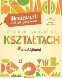Montessori: Moja pierwsza książka o kształtach - okładka książki
